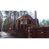 >Дом в сосновом лесу