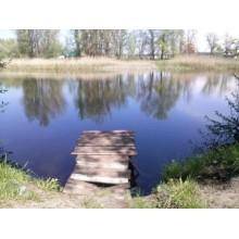 >В Чугуеве – Башкировка продам приват. участок 10 сот. на берегу озера