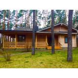 >На берегу Старосалтовского водохранилища продам деревянный дом 125 кв.м