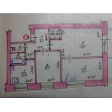 3х комнатная квартира в 5й этажном кирпичном доме