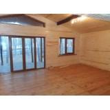 >Продам в Печенегах в Сосновой бухте новый деревянный дом